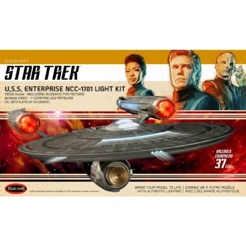 Star Trek: Discovery - U.S.S. Enterprise Light Kit By Polar Lights